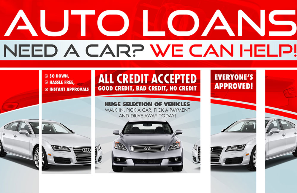 Poster Design for Auto Loan